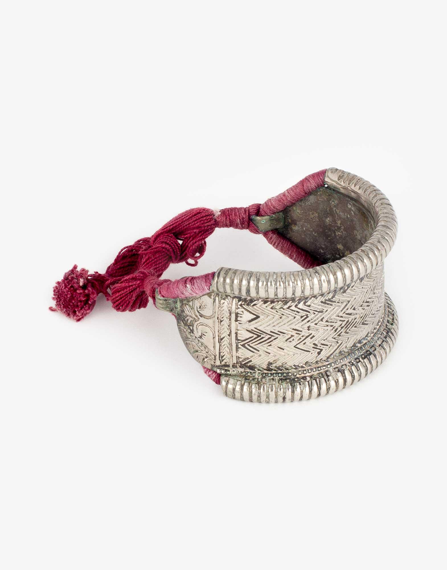 Antique Silver Nepalese Bracelet