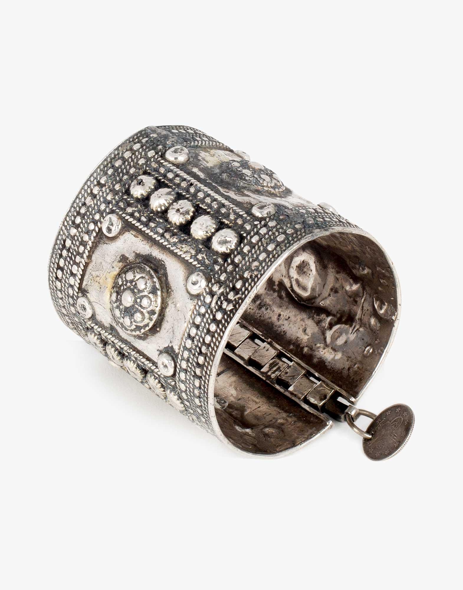 Traditional Silver Ottoman Bracelet